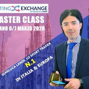 Master Class Milano marzo 2020